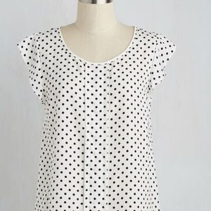 ModCloth Star of the Seminar Blouse 2X